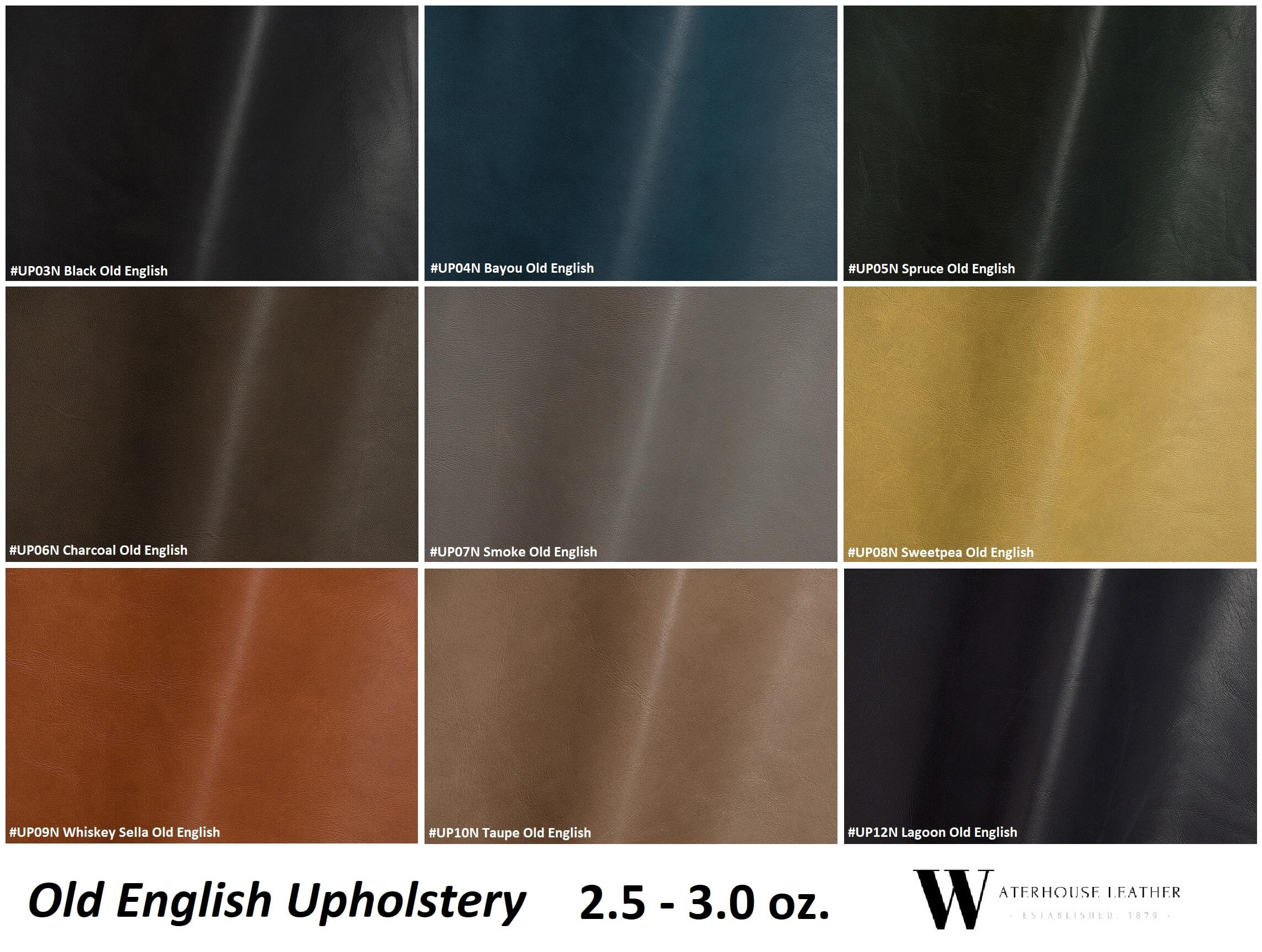 Old English Upholstery Leather | Waterhouse Leather
